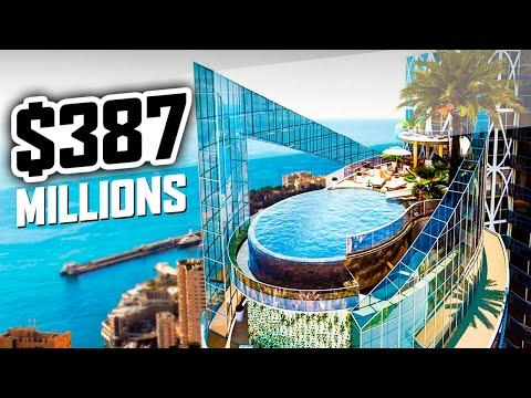 Monaco Most Expensive Penthouse $387 millions