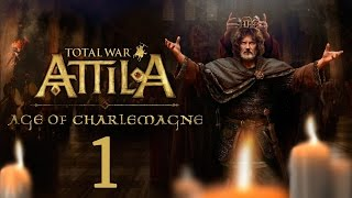 Эпоха Карла Великого #1 - Раннее средневековье, Карл! [Total War: ATTILA - Age of Charlemagne]