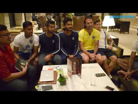 Kerala Blasters Team Mates Take Selfie Post Interview | Manorama Online