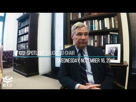 Senator Sheldon Whitehouse - International Conservation Caucus & Oceans Caucus Co-Chair