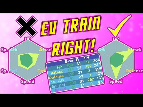 Pokemon Brick Bronze HOW TO EV TRAIN CORRECTLY