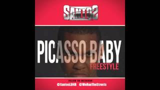Santos - Picasso Baby Freestyle (Audio)