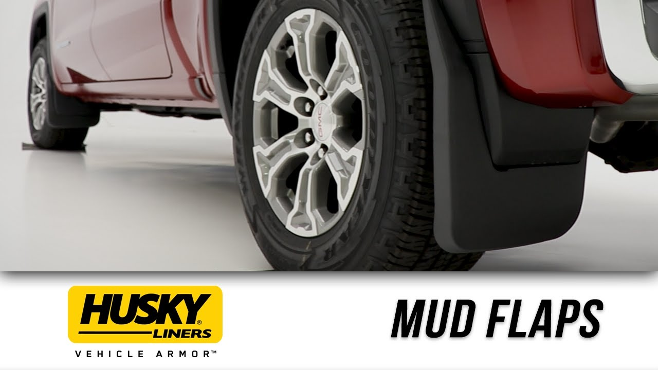 First Look Husky Liners Mud Dog Mud Flaps Youtube