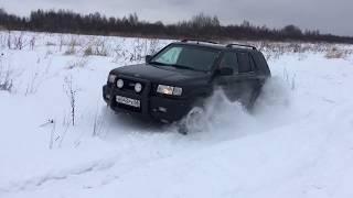Opel Frontera B - Первый снег