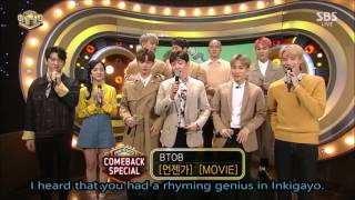 "Download Video [ENG] D6 JINJIDO MC/ BTOB ""Movie"" interview MP3 3GP MP4"
