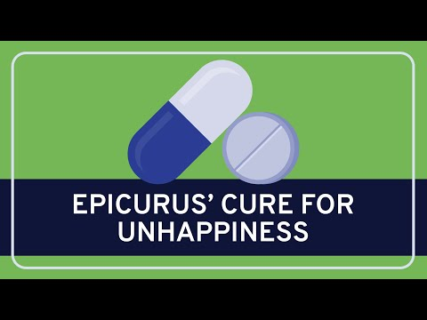 PHILOSOPHY - History: Epicurus' Cure for Unhappiness [HD]