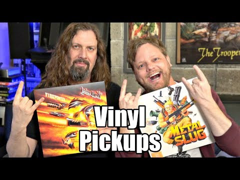 Music Vinyl Pickups March 2018 - 20 Rock, Metal, Electronic & More!