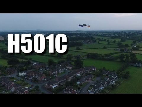Hubsan H501C Review - With a Phantom 4