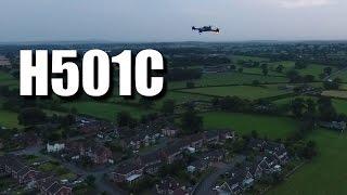 видео Hubsan h501c gps