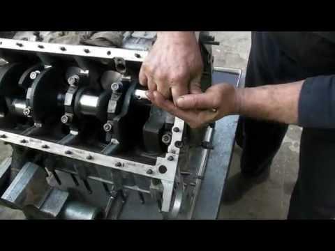 Установка сальниковой набивки коленвала на ГАЗ 53