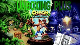 Unboxing Crash bandicoot insane trilogy ps4 + merchandising