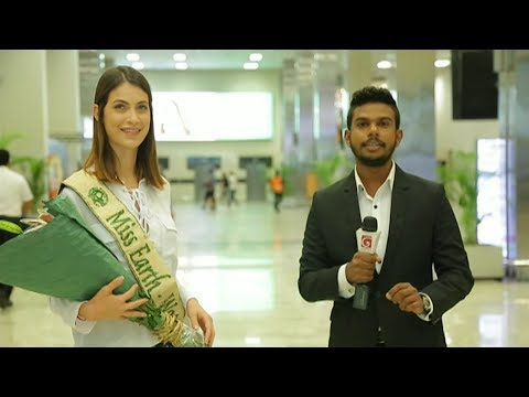Miss Earth 2016 to attend the grand final of Derana Miss Sri Lanka