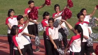2016-2017 佛教茂峰法師紀念中學 陸運會啦啦隊表演精