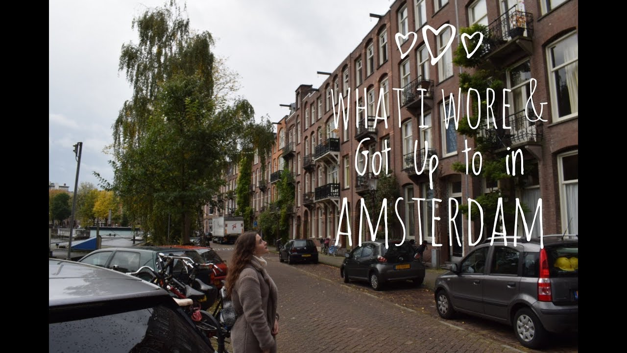 [VIDEO] - EVERYDAY OUTFITS LOOKBOOK| Amsterdam Outfits and Vlog 2
