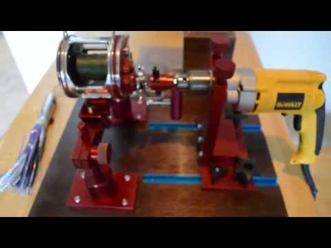 Line Winder built with Bees Knees Spooler