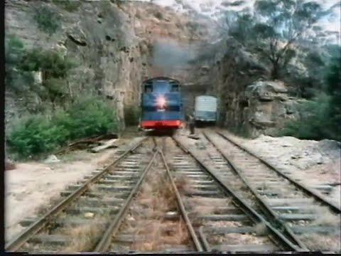 De grote treinreis - een rechte lijn door Australië 1981