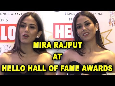 HELLO Hall Of Fame Awards 2018 : Shahid Kapoor Wife Mira Rajput At HELLO Hall Of Fame Awards - 동영상