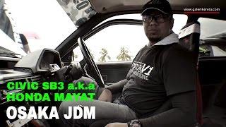 honda civic sb3 osaka jdm   interview sound test   speed junkies 2016