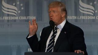 Trump's full speech at Faith & Freedom Coalition...