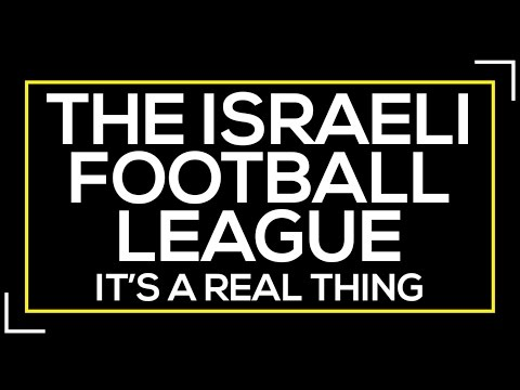 Israeli Football League - It's A Real Thing