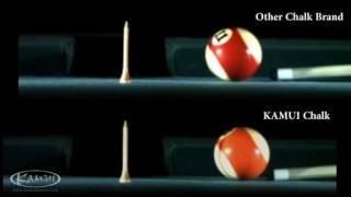Pool Chalk - Kamui Chalk Performance Test: Back Spin