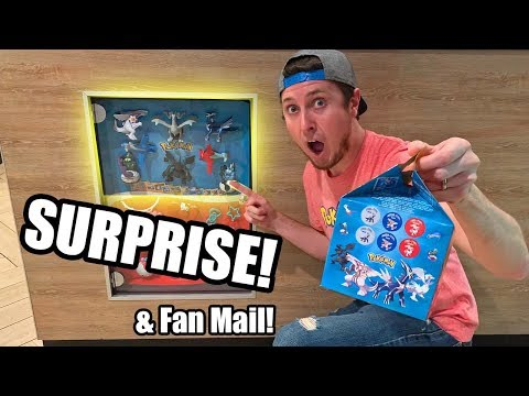 BIG POKEMON CARD SURPRISE AT MCDONALDS and Fan Mail Opening Is Back!