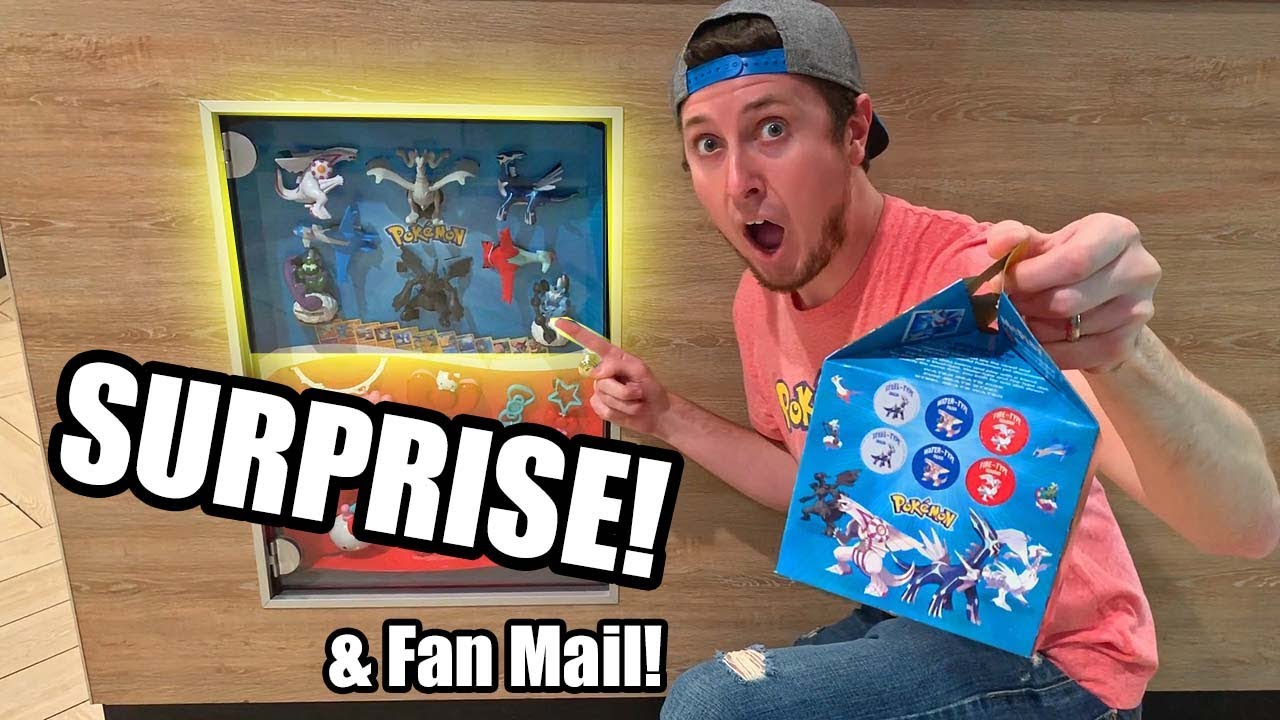 BIG POKEMON CARD SURPRISE AT MCDONALDS And Fan Mail