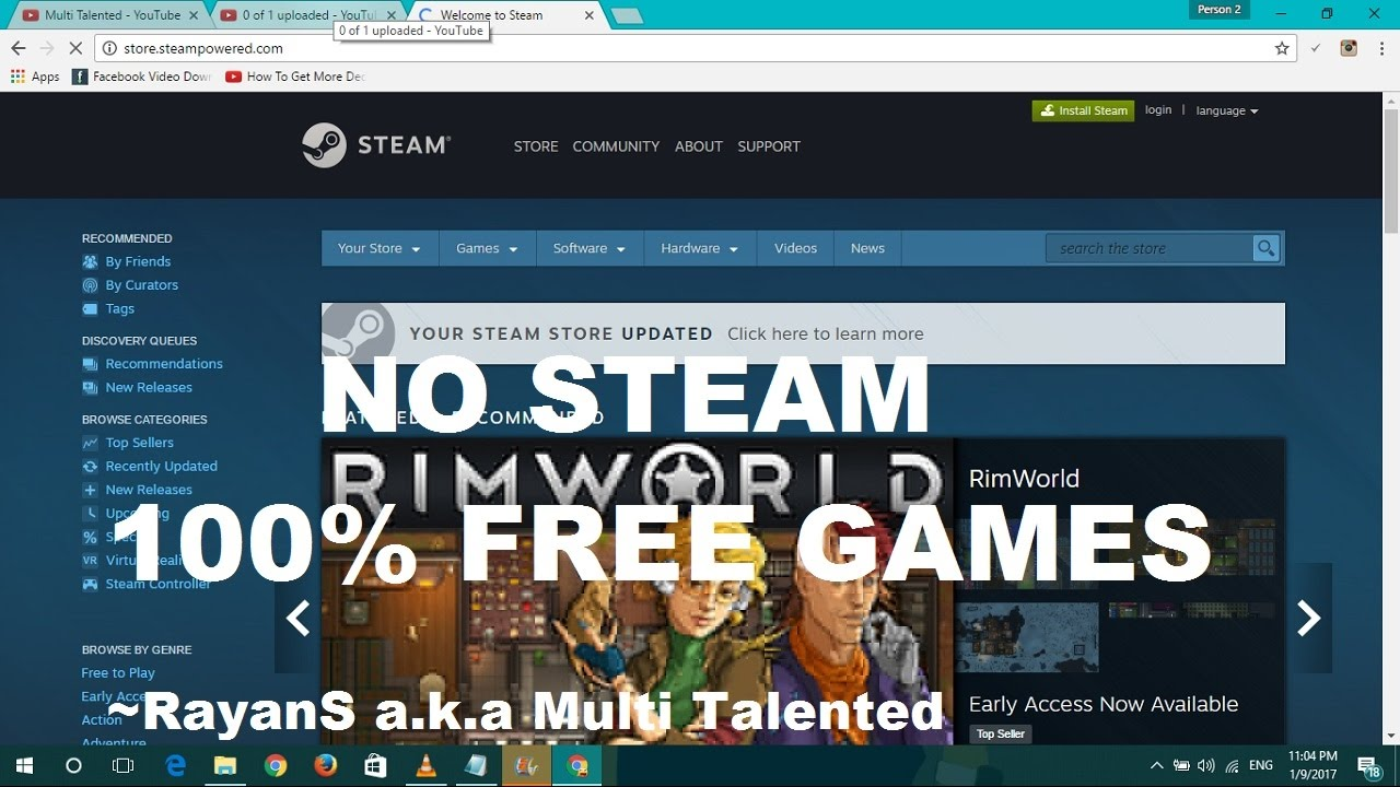 [NO STEAM]-Download Any Game and Software Without Steam For Free | 100%  Working