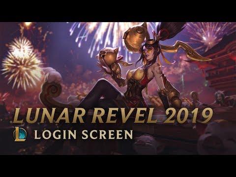 Lunar Revel 2019 | Login Screen - League of Legends