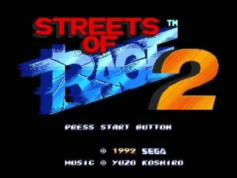 Streets Of Rage 2 - Go Straight