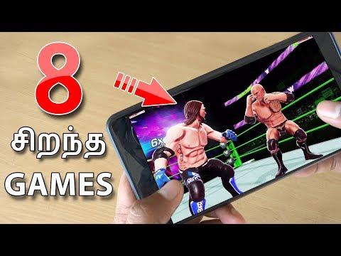 சிறந்த 8 Games | Top 8 HD Games for Android in 2017