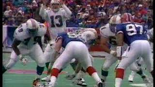 Buffalo Bills vs. Miami Dolphins - 1995 AFC Playoffs   December 30, 1995