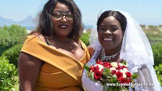 Bothwell n Yolanda Zim wedding hosted by Top wedding sa