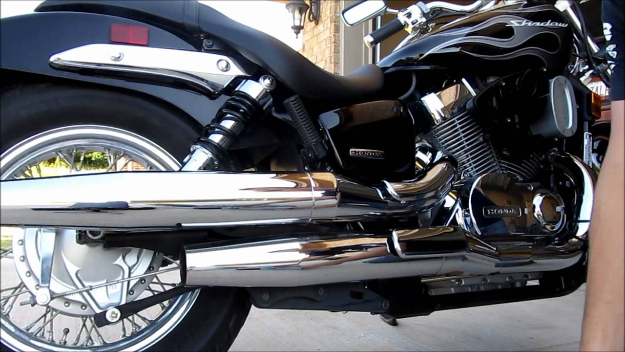 K&N filter 2007 Honda Shadow Spirit - YouTube