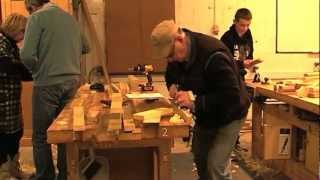 Bevel Woodworking Class, Adirondack Chair