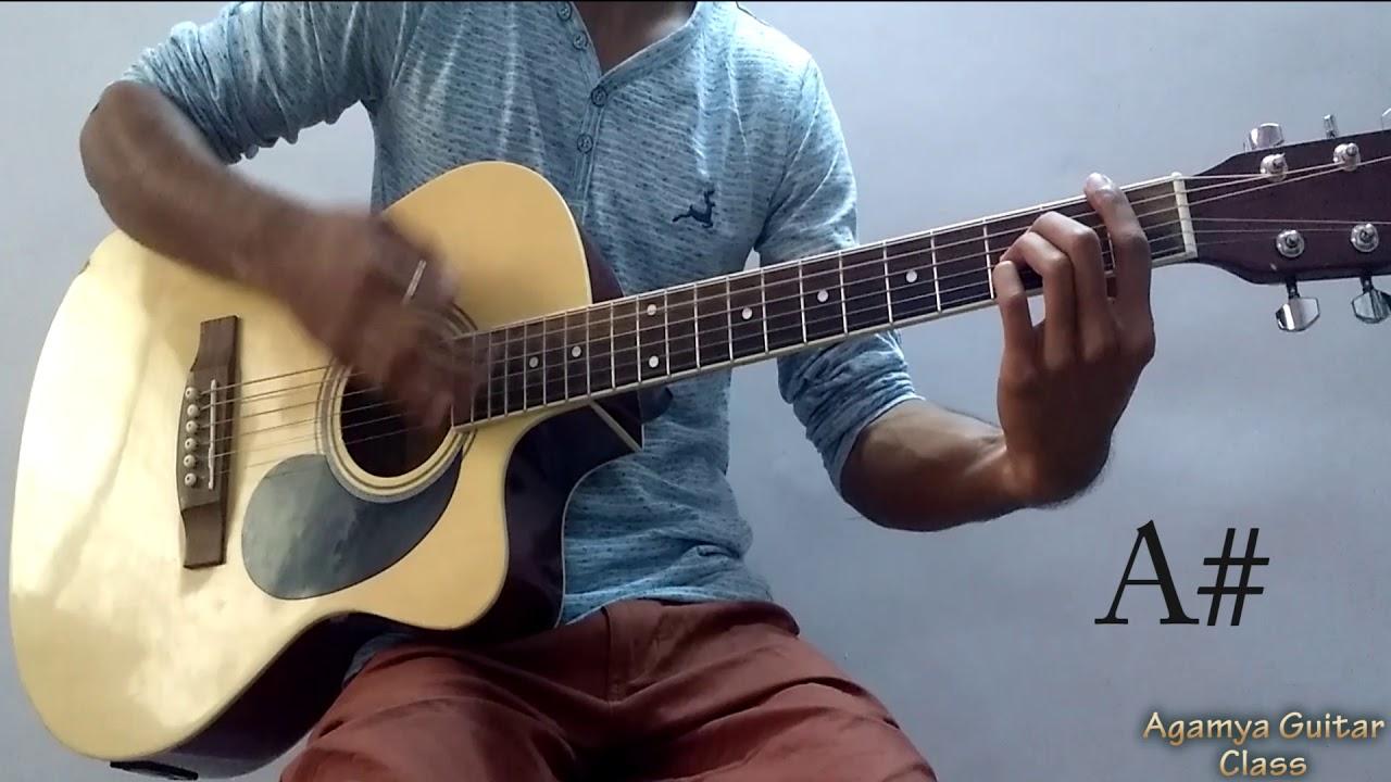 Tera Yaar Hoon Main Guitar Chords Lesson Strumming Pattern And