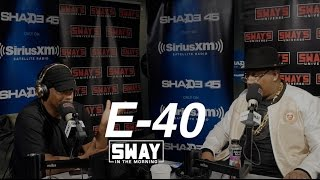 E-40 Freestyles Live For the First Time + Reveals He