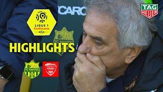 FC Nantes - Nîmes Olympique (2-4) - Highlights - (FCN - NIMES) / 2018-19