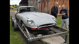 Collecting My Dad's Dream Car - 1969 Jaguar E-Type