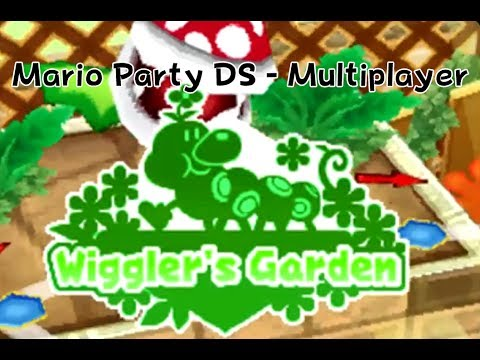 Mario Party DS Multiplayer - Wiggler's Garden (Tag Battle)