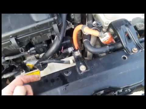 Owning An Older Hybrid 09 Prius Air Bag Light Fix P1121 Maintenance