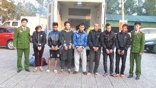 Nghệ An bắt 12 đối tượng trốn truy nã tại các tỉnh phía Nam và Tây Nguyên