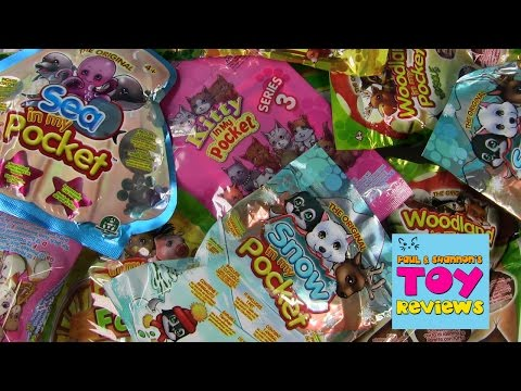 In My Pocket Palooza | Kitty Sea Jungle Snow | Toy Review| PSToyReviews
