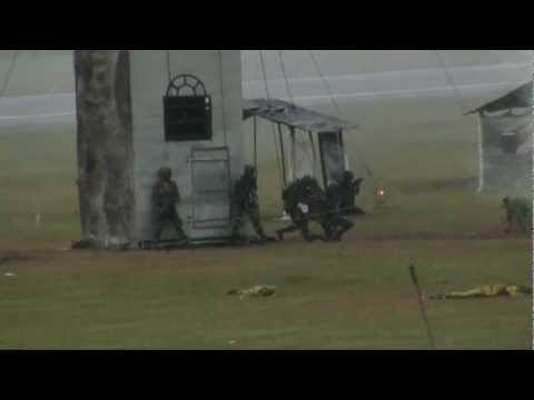 Mock Attack - Sri Lanka Air Force