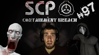 SCP Containment Breach | Part 97 | 096 + 049 Are All Over The Facility! w/ Facecam Reactions!