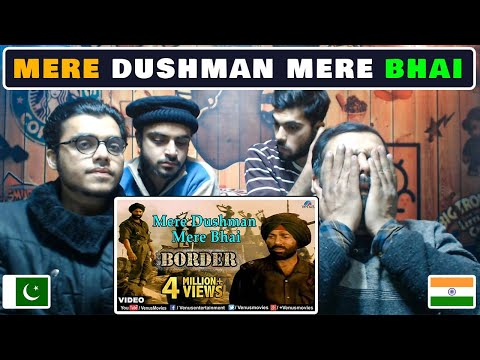 👉pakistani-respect👈-(-mere-dushman-mere-bhai-)-full-video-song-💖-border- -sunny-deol,-patriotic-song