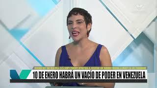 A partir del 10 de enero habrá vacío de poder en Venezuela, según Beatriz Becerra