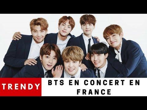 BTS EN CONCERT À PARIS - LES BTS VIENNENT EN FRANCE LE 19 & 20 Octobre 2018 TRENDY#1