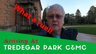 What A Fuel! | Arriving At Tredegar Park Caravan And Motorhome Club Site