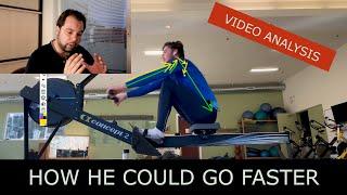 Indoor Rowing Technique - How Sebastien Can Go Faster